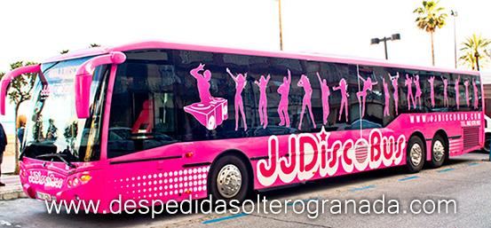 Discobus de 70 plazas en Granada