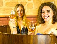 Beer Spa para despedidas en Granada