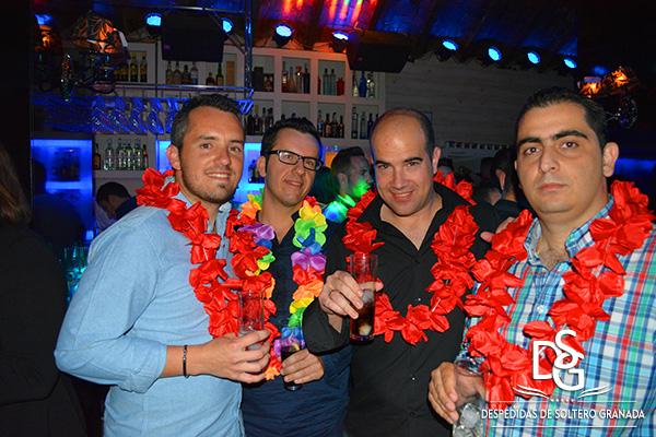 Despedida de soltero brinda en DCuadros Granada