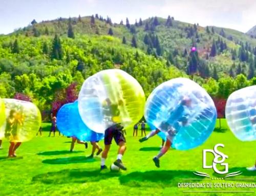 Fútbol Bubble, la nueva locura para despedidas de soltero en Granada