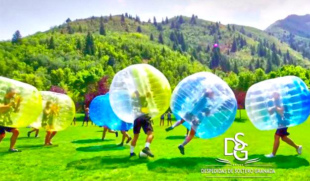 Juego Fútbol Bubble en Granada