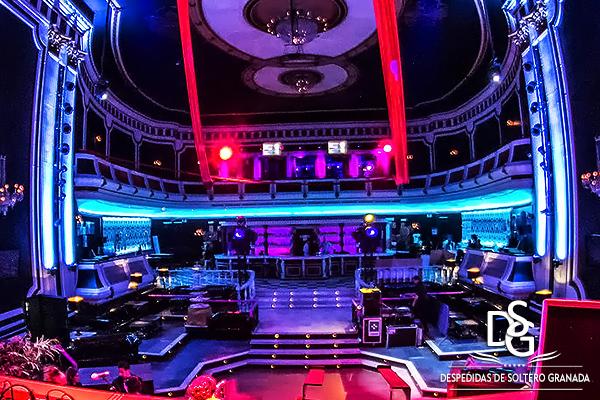 Discoteca Granada 10 (antes Grand Teatro)