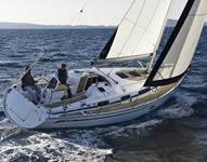 Despedida en barco velero